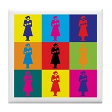 Midwifery Pop Art Tile Coaster