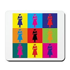 Midwifery Pop Art Mousepad