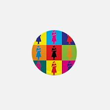 Midwifery Pop Art Mini Button