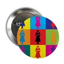 "Midwifery Pop Art 2.25"" Button"
