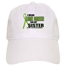 LD: Lime Green For Sister Baseball Baseball Cap