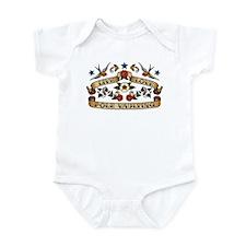 Live Love Pole Vaulting Infant Bodysuit