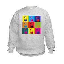 Microbiology Pop Art Sweatshirt