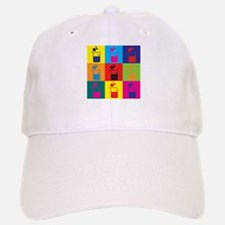 Microbiology Pop Art Cap