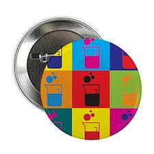 """Microbiology Pop Art 2.25"""" Button (10 pack)"""