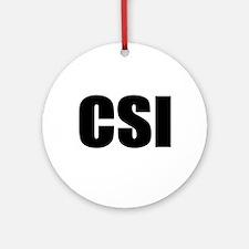 CSI Keepsake (Round)