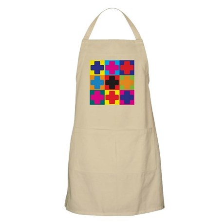 Medical Assisting Pop Art BBQ Apron