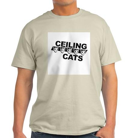 Ceiling Cat Light T-Shirt