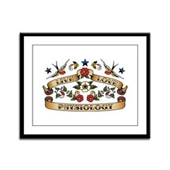 Live Love Physiology Framed Panel Print