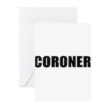 Coroner Greeting Cards (Pk of 10)