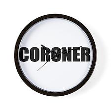 Coroner Wall Clock