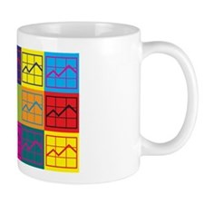 MBA-ing Pop Art Small Mug