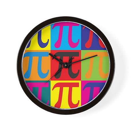 Math Pop Art Wall Clock