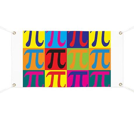 Math Pop Art Banner