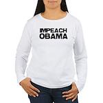 Impeach Obama Women's Long Sleeve T-Shirt