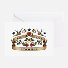 Live Love Payroll Greeting Cards (Pk of 10)