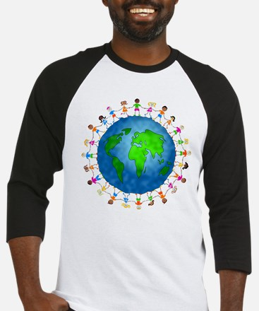 Safe the earth Baseball Jersey