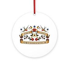 Live Love Orthodontics Ornament (Round)
