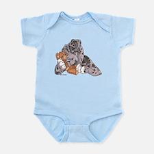 NMrl Teddy Hug Infant Bodysuit