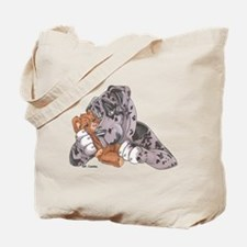 NMrl Teddy Hug Tote Bag