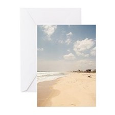 Hamptons beach Greeting Cards (Pk of 10)