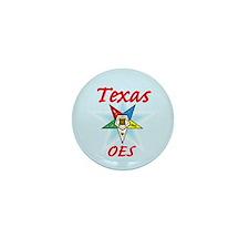 Texas Eastern Star Mini Button (100 pack)