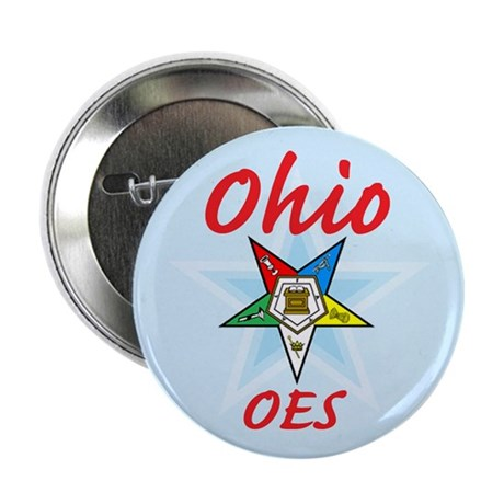 "Ohio Eastern Star 2.25"" Button"
