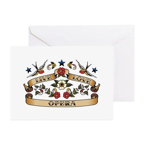 Live Love Opera Greeting Cards (Pk of 10)