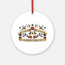 Live Love Obstetrics Ornament (Round)