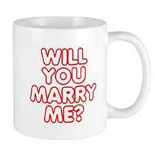 Retro Will You Marry Me? Mug