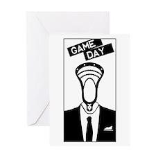 Lacrosse GameDay Greeting Card