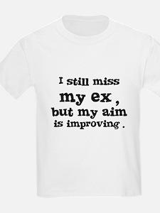 I Still Miss My Ex Kids T-Shirt