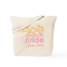 June Beach Bride Tote Bag