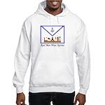 Masonic Real Men Wear Aprons Hooded Sweatshirt