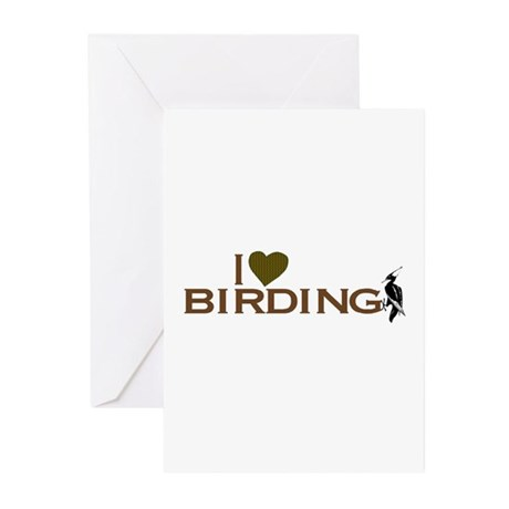 I Love Birding Greeting Cards (Pk of 20)