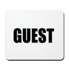 Guest Mousepad