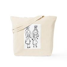 Two Brides Tote Bag