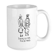 Two Brides Mug