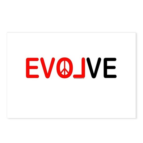 Evolve Postcards (Package of 8)
