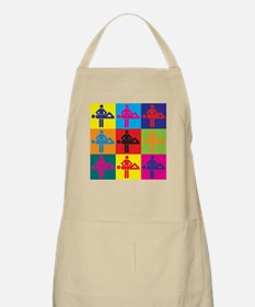 Massage Pop Art BBQ Apron