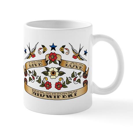Live Love Midwifery Mug