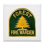 Fire Warden Tile Coaster