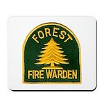 Fire Warden Mousepad
