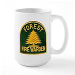 Fire Warden Large Mug
