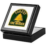 Fire Warden Keepsake Box