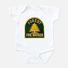 Fire Warden Infant Bodysuit