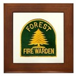 Fire Warden Framed Tile