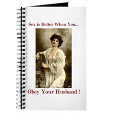 Obey for Better Sex Slave's Diary & Journal