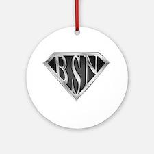 SuperBSN(metal) Ornament (Round)