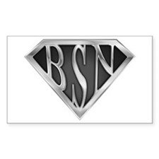 SuperBSN(metal) Rectangle Decal